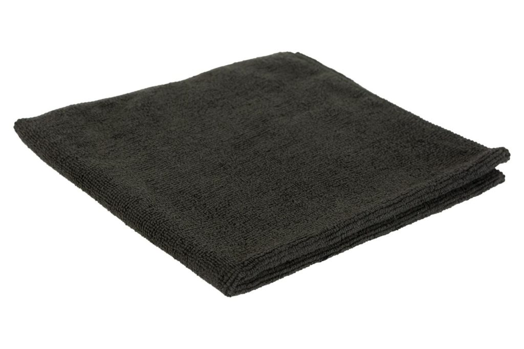 Microvezeldoek zwart (Bardoek)